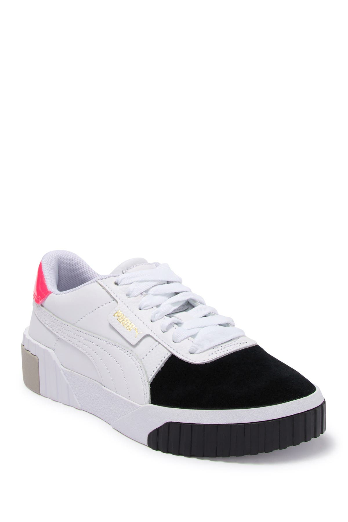 Nevada Ineficiente lineal  PUMA | Cali Remix Leather Sneaker | Nordstrom Rack
