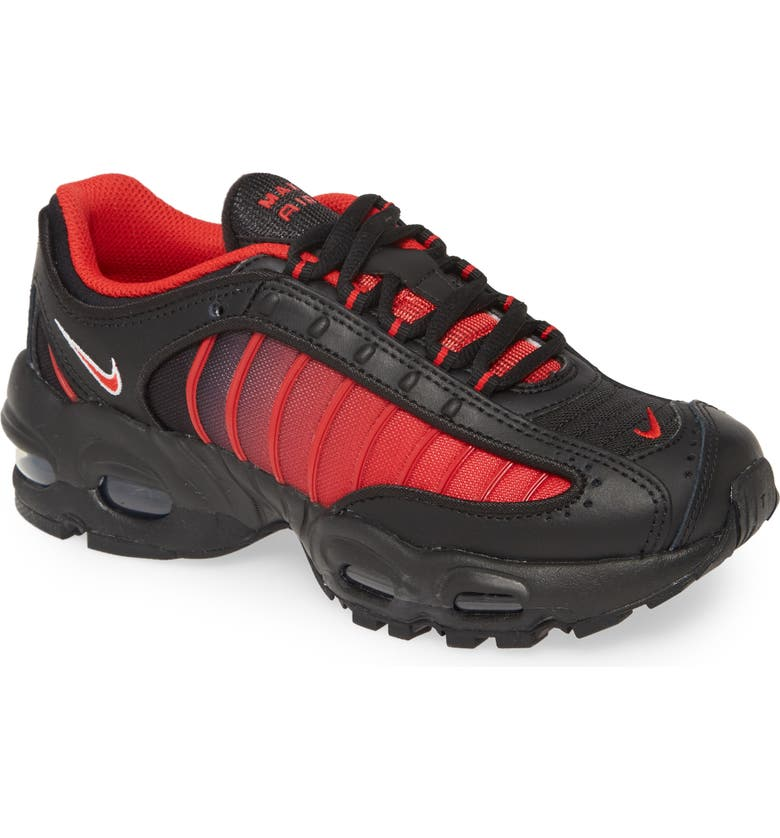NIKE Air Max Tailwind IV GS Sneaker, Main, color, RED/ RED/ BLACK
