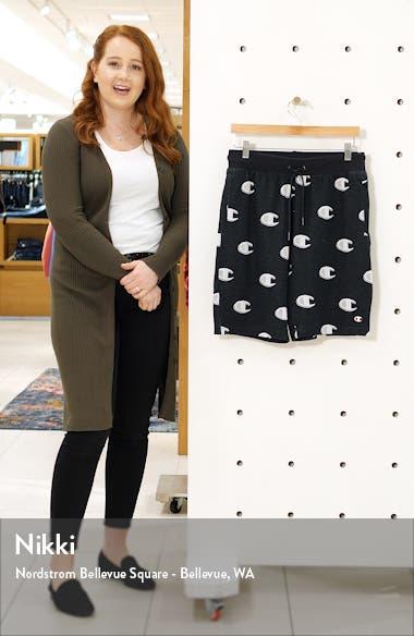 Logo Jacquard Cotton Shorts, sales video thumbnail