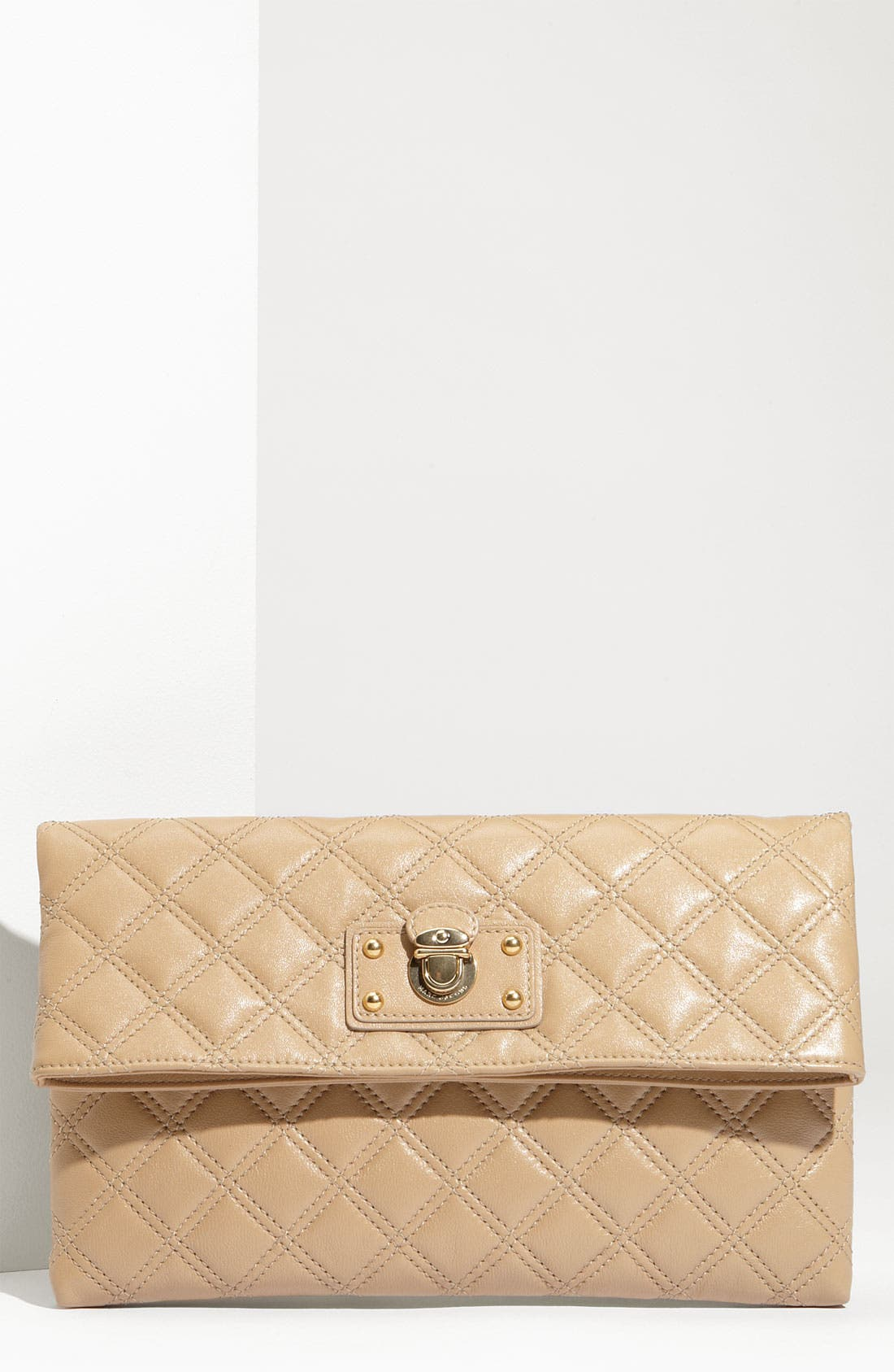 ,                             'Quilting - Eugenie' Leather Clutch,                             Main thumbnail 7, color,                             255