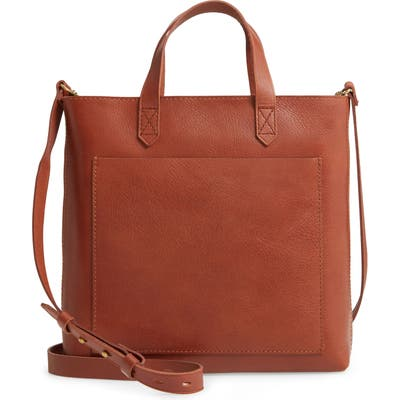 Madewell The Small Transport Crossbody Bag - Brown