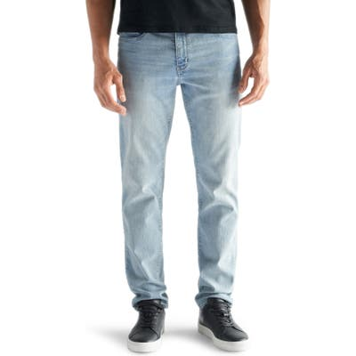 Devil-Dog Dungarees Slim Fit Performance Stretch Jeans, Blue