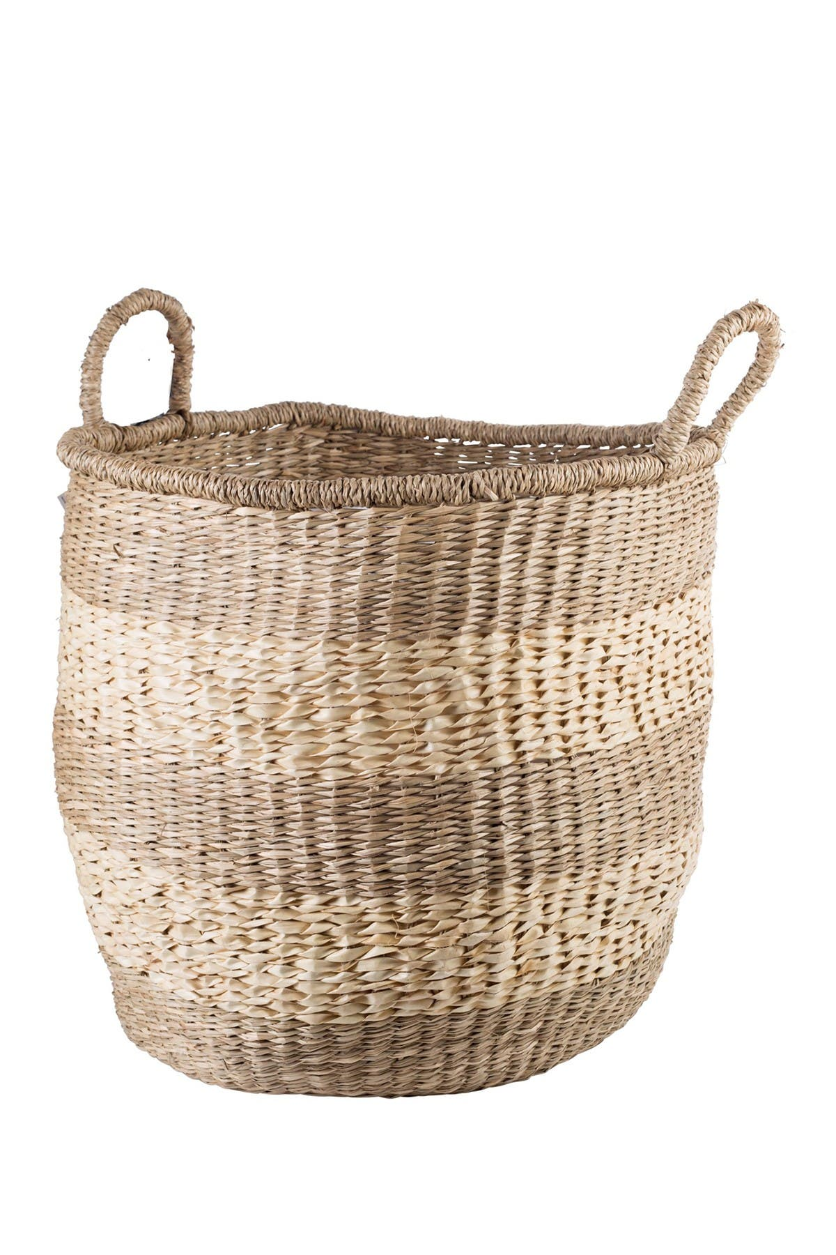 """Image of Home Essentials and Beyond 18""""D Large Storage Basket"""
