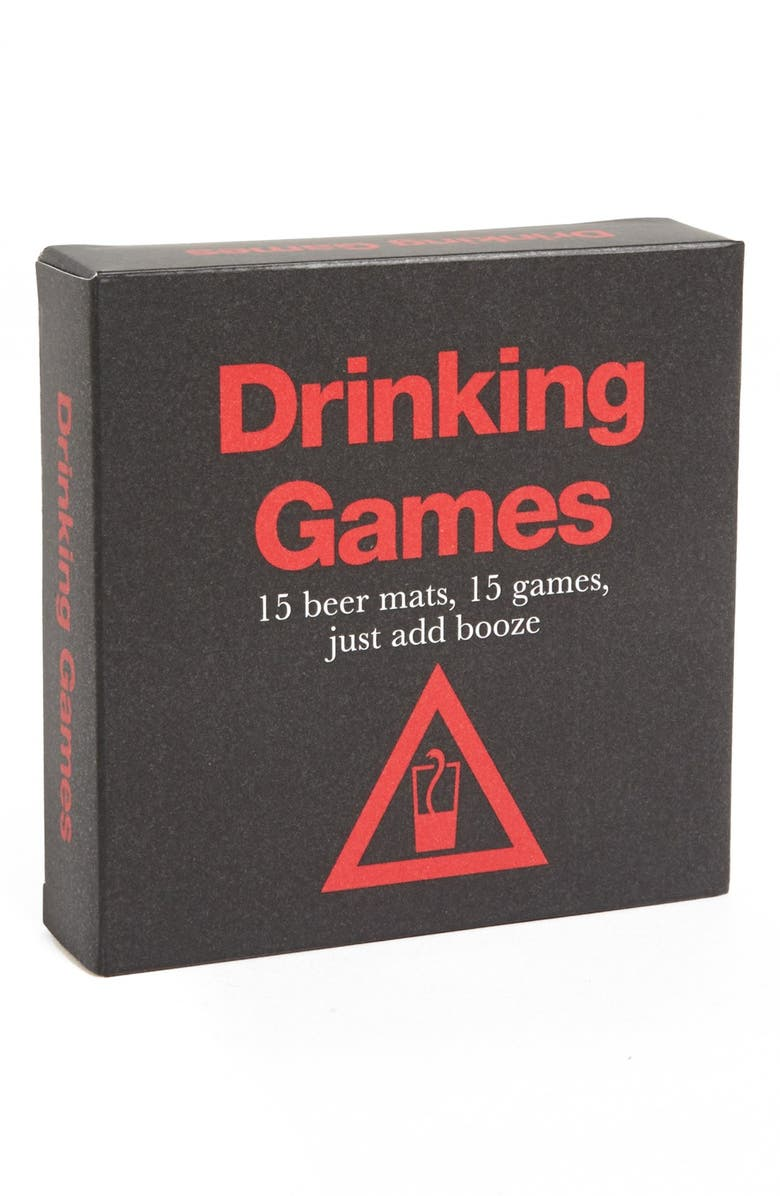 RYLAND PETERS & SMALL 'Drinking Games' Coasters, Main, color, 001