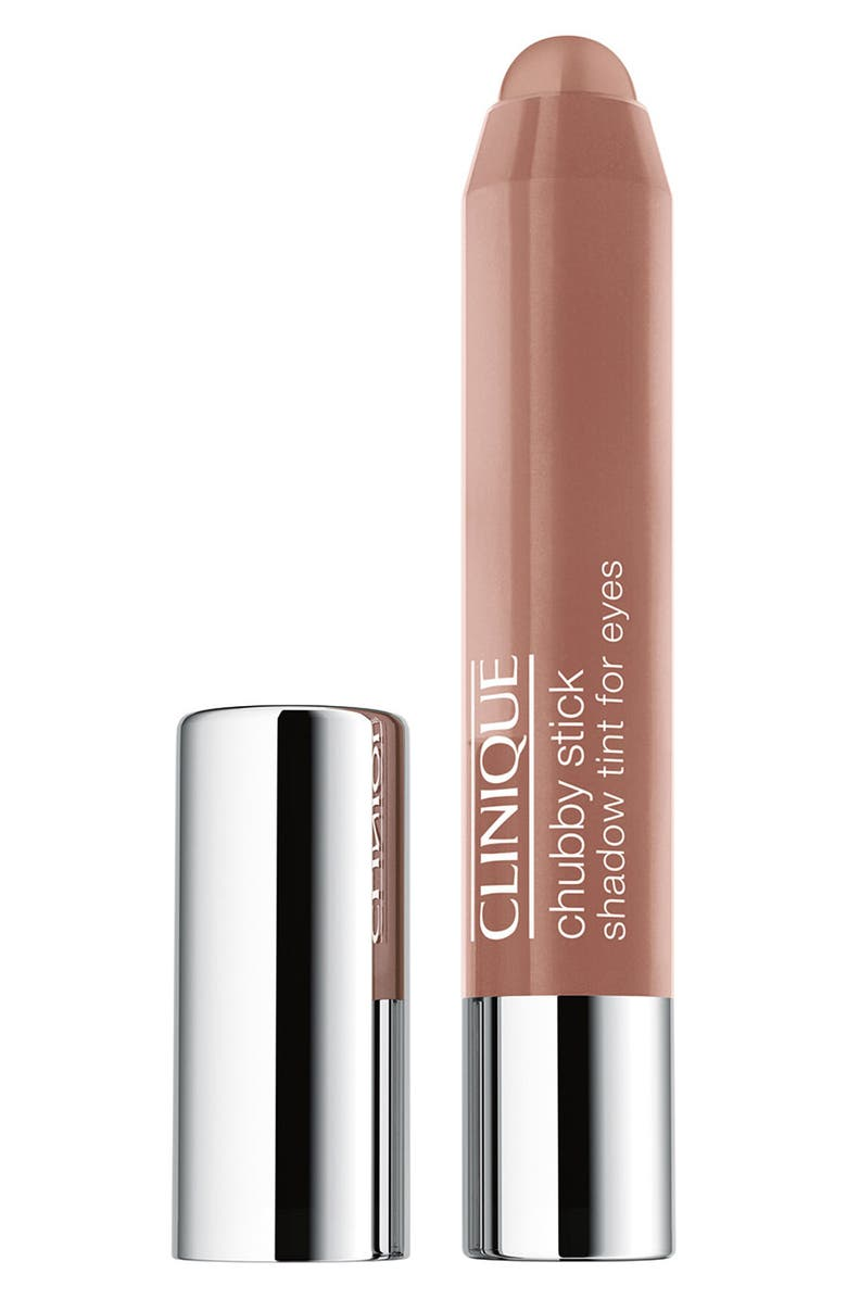 CLINIQUE Chubby Stick Shadow Tint for Eyes, Main, color, AMPLE AMBER