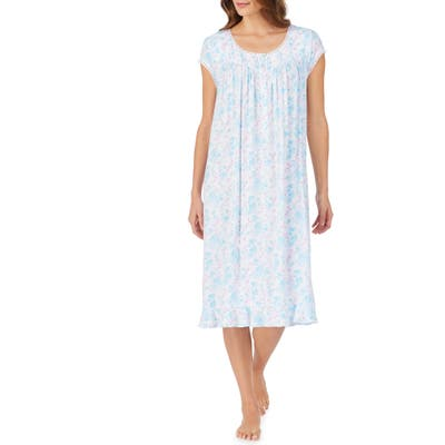 Eileen West Waltz Nightgown, Blue