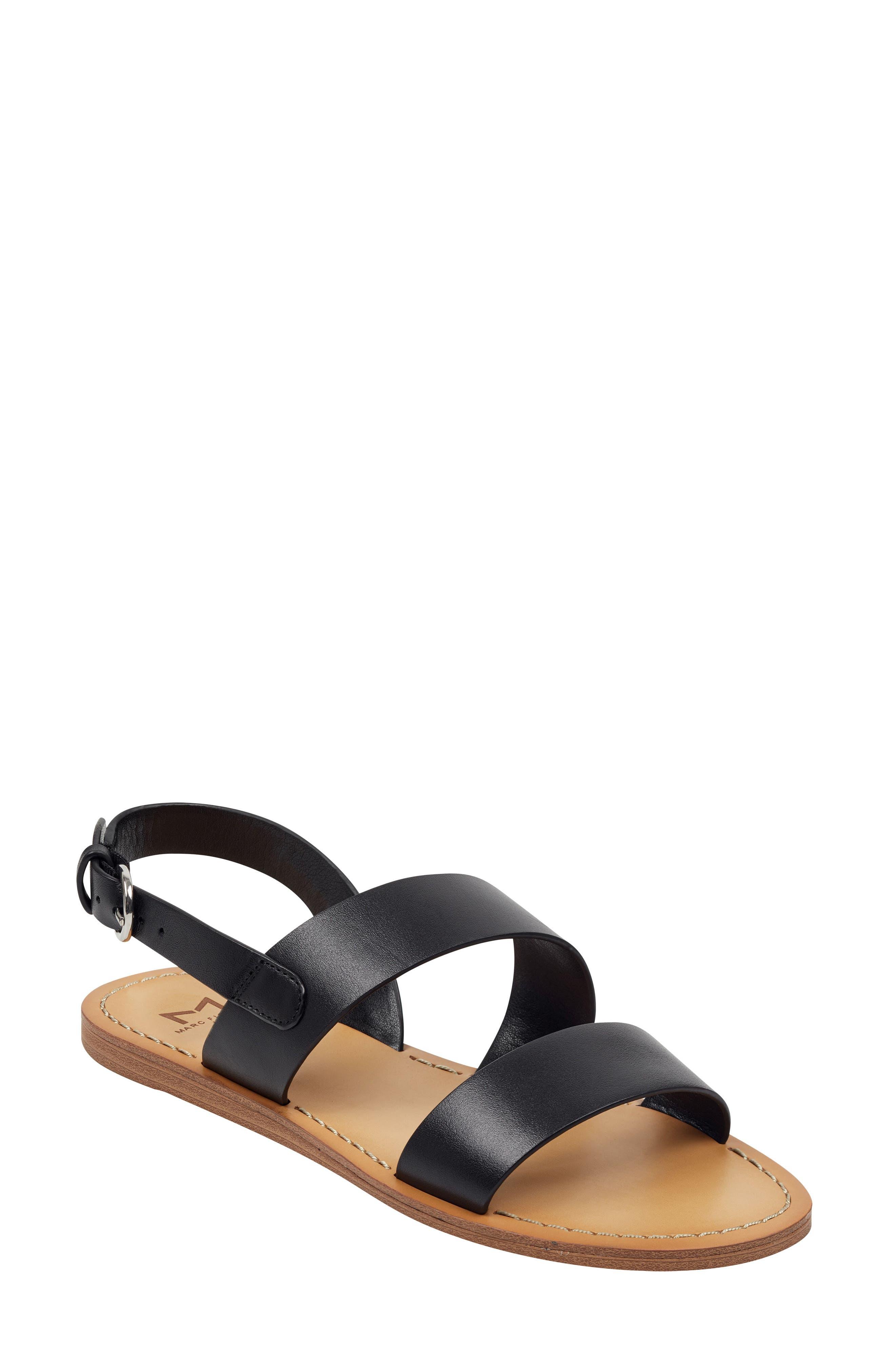 Pacon Sandal, Main, color, BLACK LEATHER