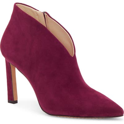 Vince Camuto Sestrind Bootie- Red