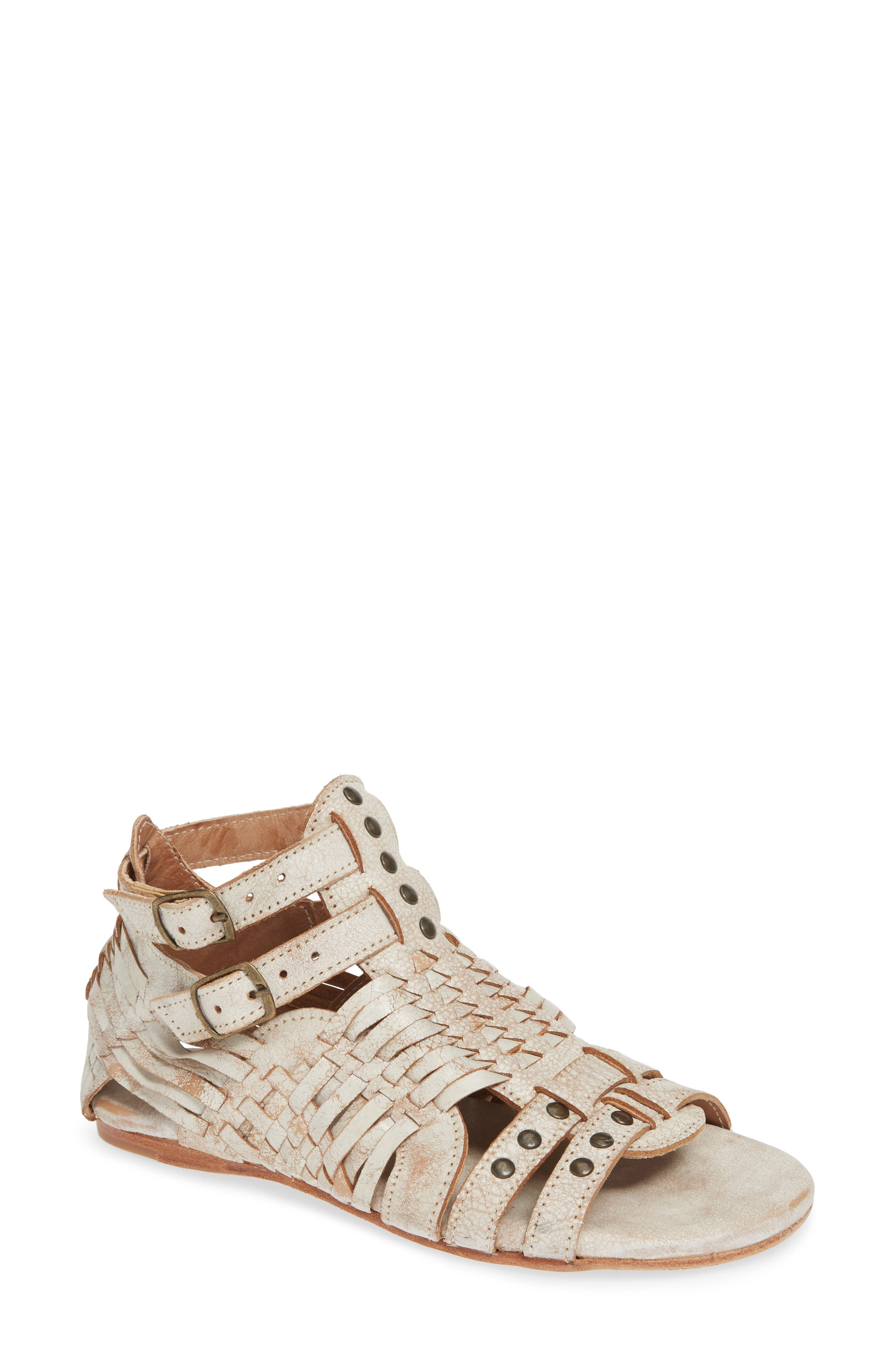 Claire Woven Gladiator Sandal