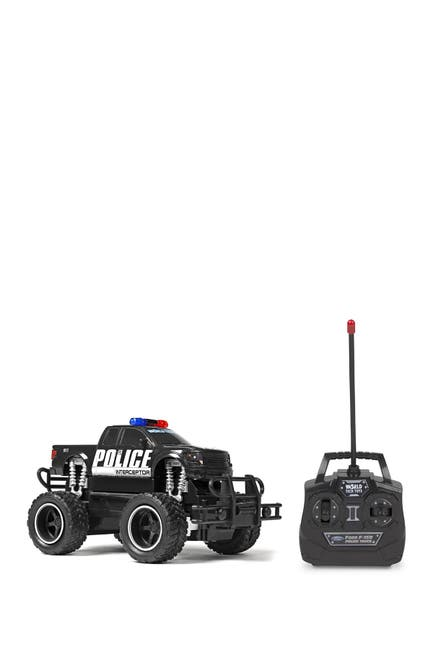 Image of World Tech Toys Ford F-150 Police 1:24 RTR Electric RC Monster Truck