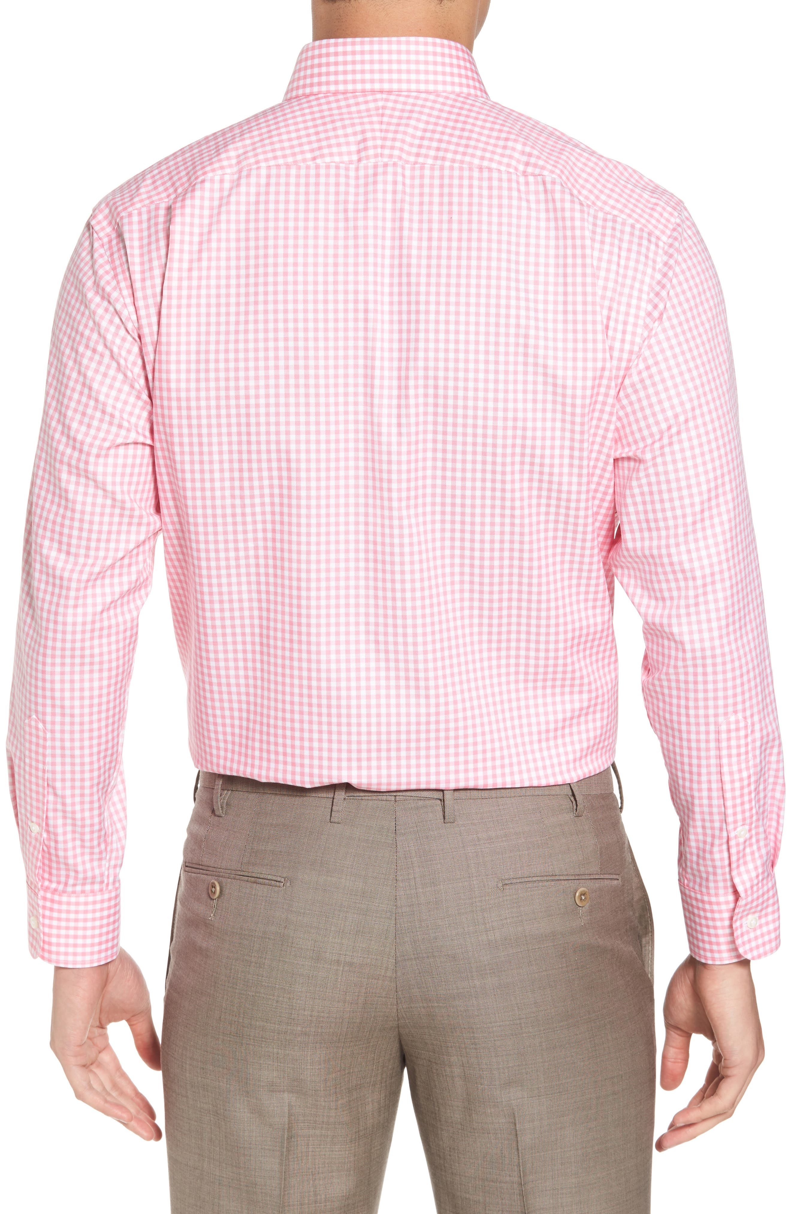 ,                             Traditional Fit Non-Iron Gingham Dress Shirt,                             Alternate thumbnail 34, color,                             680