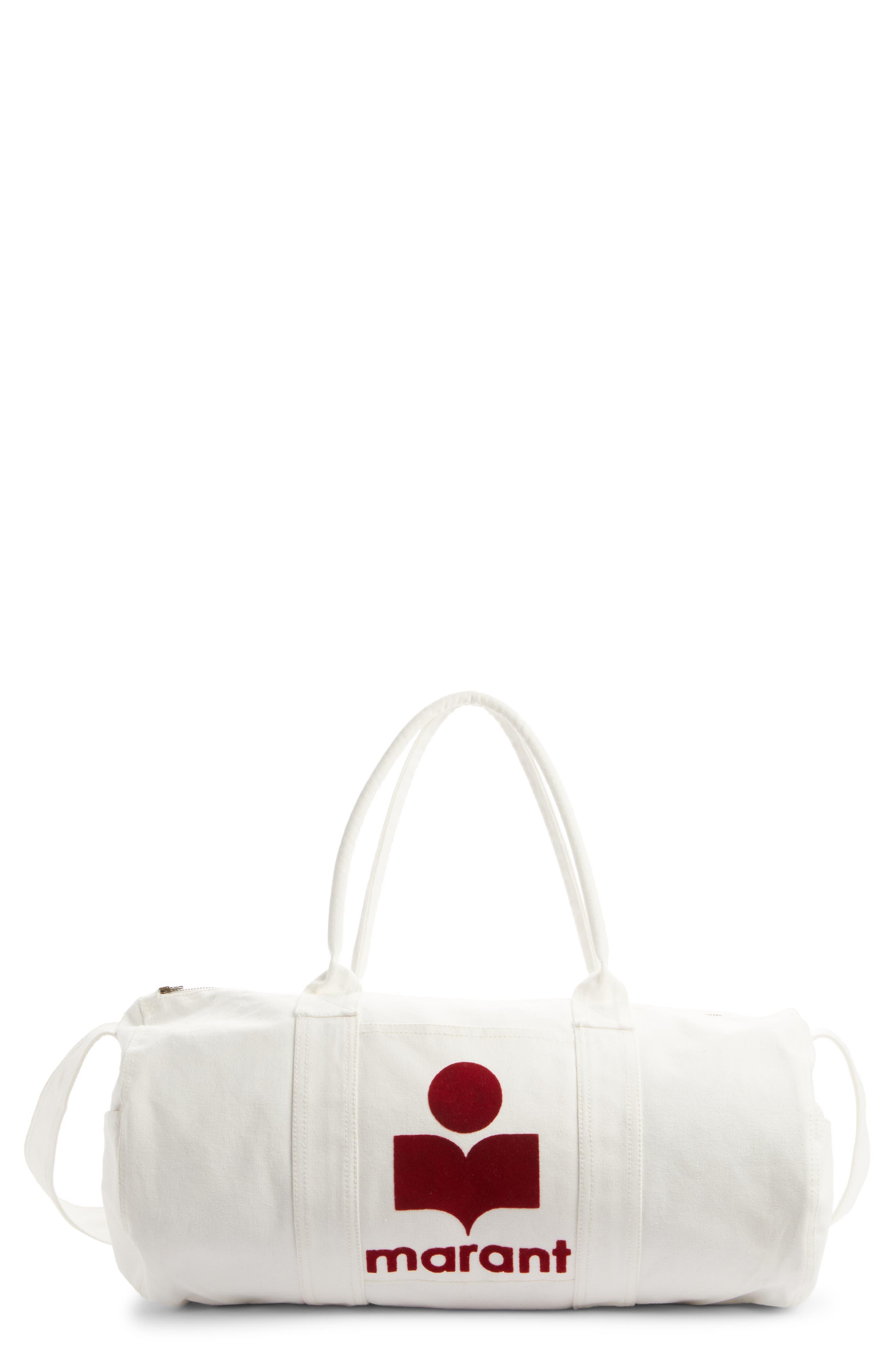 Nayogi Logo Canvas Duffle Bag