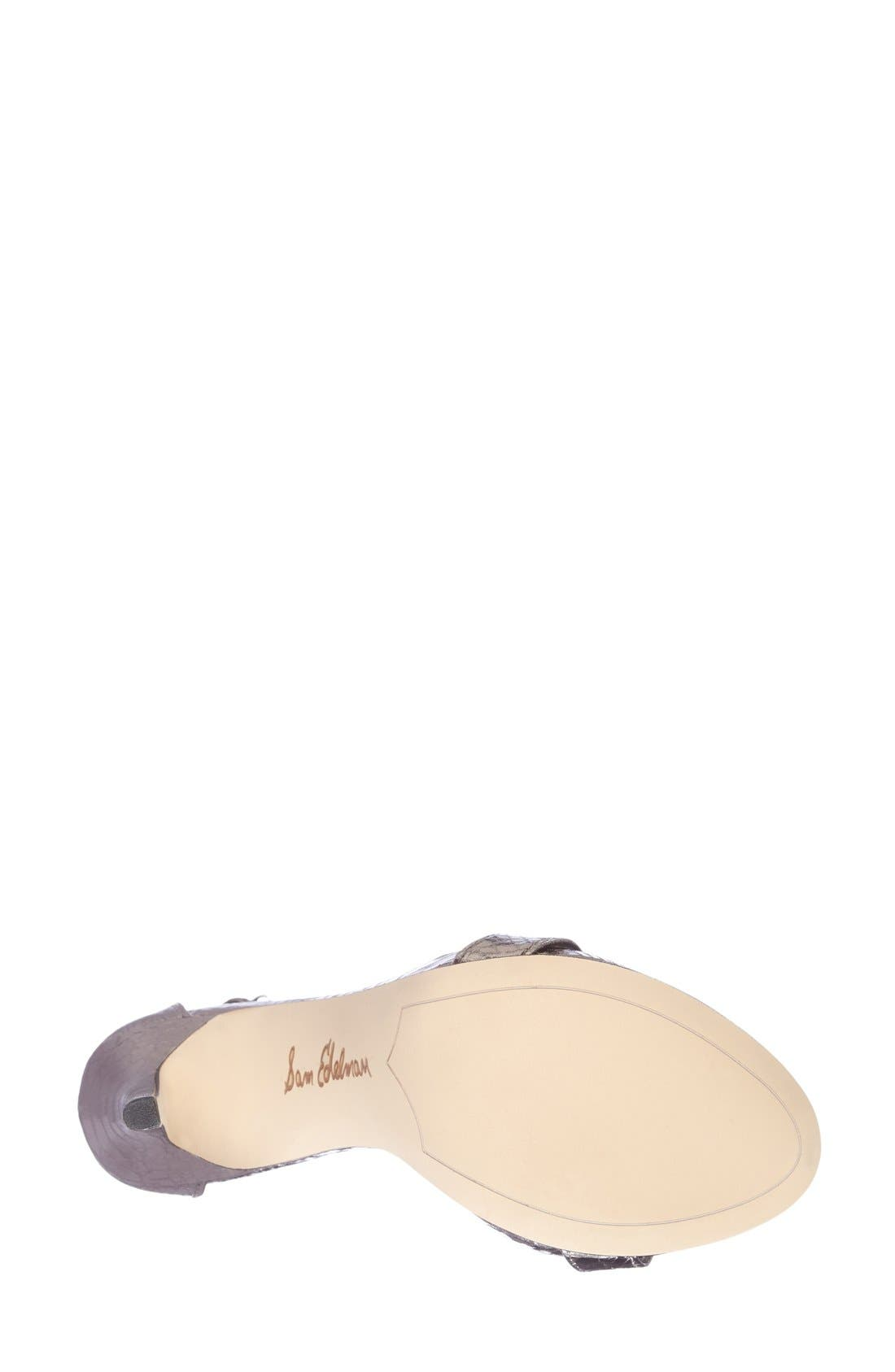 ,                             'Eleanor' Ankle Strap Sandal,                             Alternate thumbnail 52, color,                             020