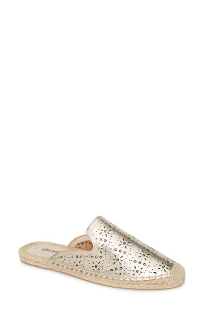 Soludos AMI PERFORATED MULE