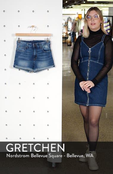 Molly High Waist Denim Shorts, sales video thumbnail