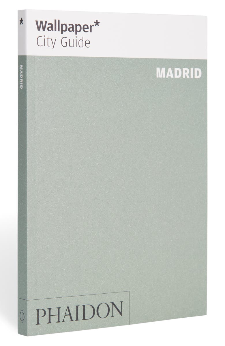 PHAIDON PRESS 'Wallpaper* City Guide Madrid' Pocket Size Travel Book, Main, color, GREEN