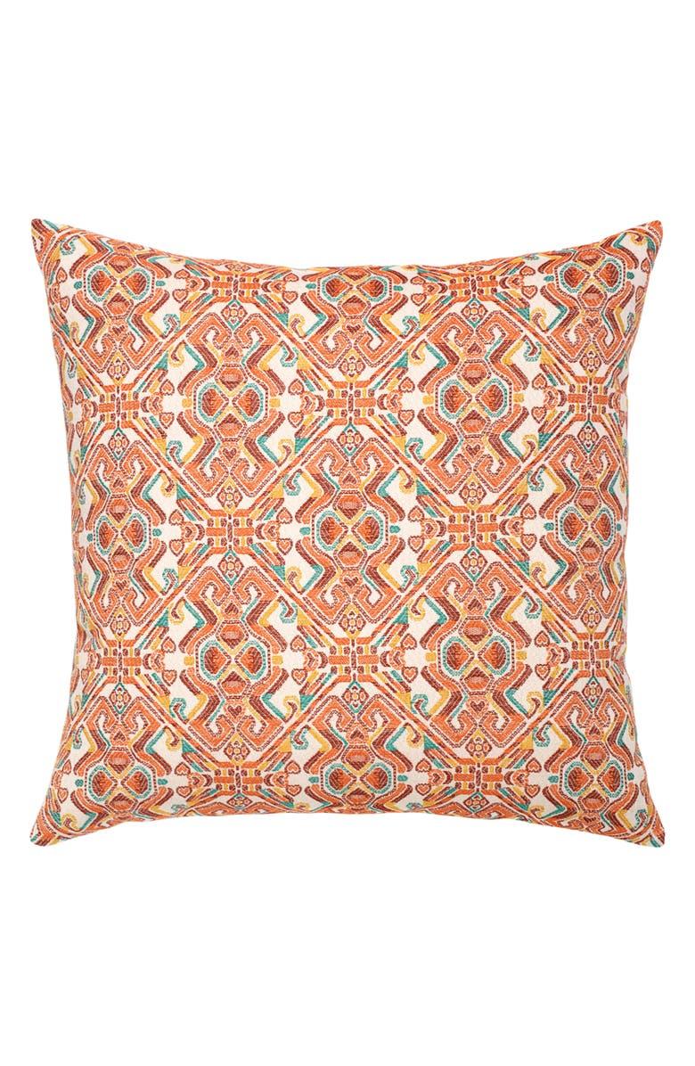 ELAINE SMITH Lindos Indoor/Outdoor Accent Pillow, Main, color, ORANGE MULTI