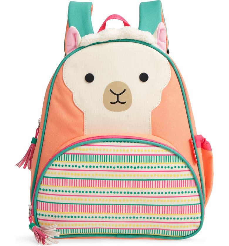 SKIP HOP Zoo Pack Llama Backpack, Main, color, 699