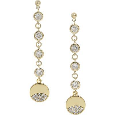 Ettika Multi Crystal Drop Earrings