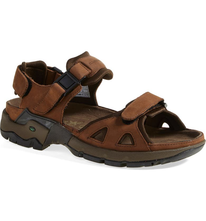 MEPHISTO Allrounder by Mephisto 'Alligator' Sandal, Main, color, BRO