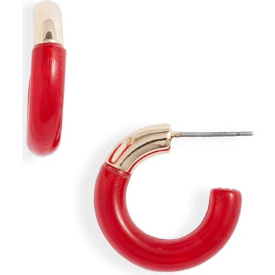 Lele Sadoughi Small Arch Hoop Earrings