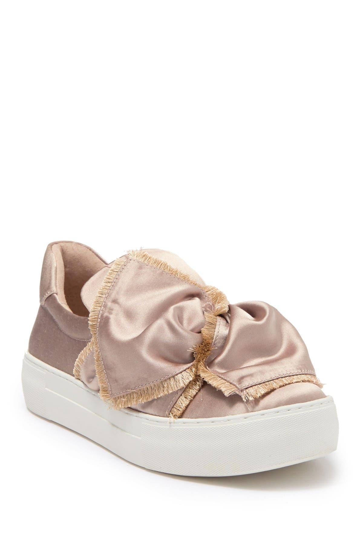 J/Slides   Azzura Satin Slip-On Sneaker