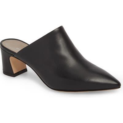 Agl Pointy Toe Mule, Black