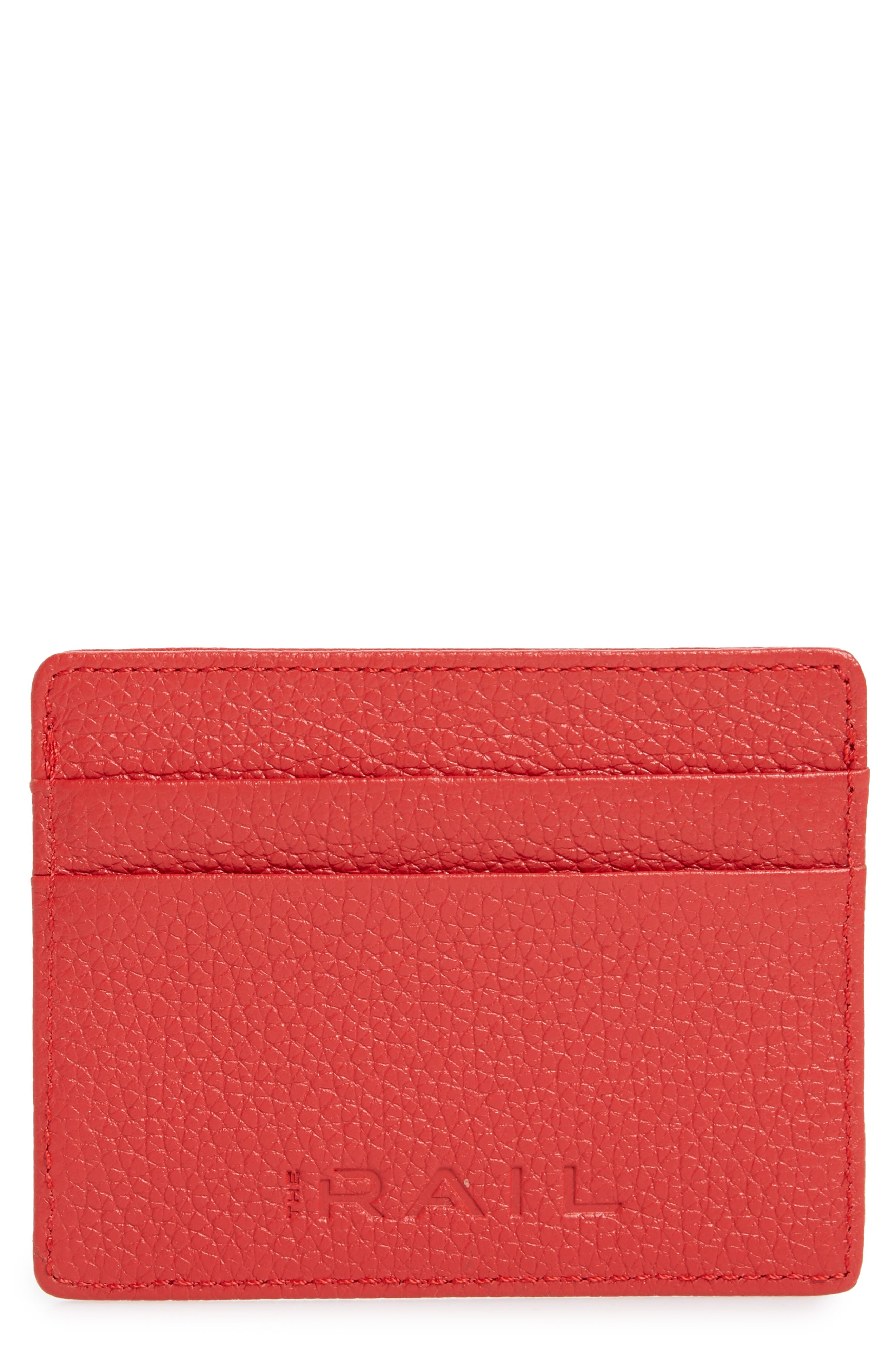 ,                             Jamie Leather Card Case,                             Main thumbnail 53, color,                             610