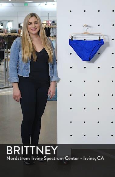 Side Shirred Hipster Bikini Bottoms, sales video thumbnail
