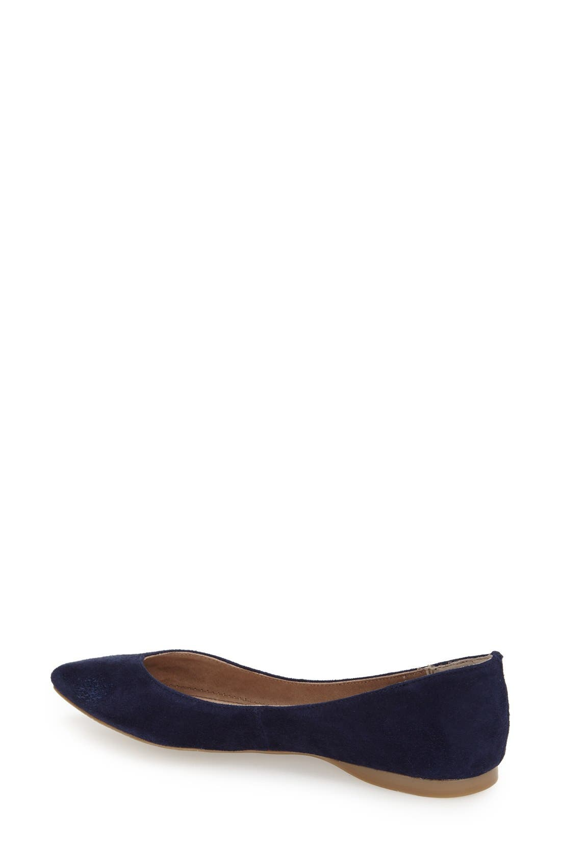 ,                             'Moveover' Pointy Toe Leather Flat,                             Alternate thumbnail 28, color,                             438