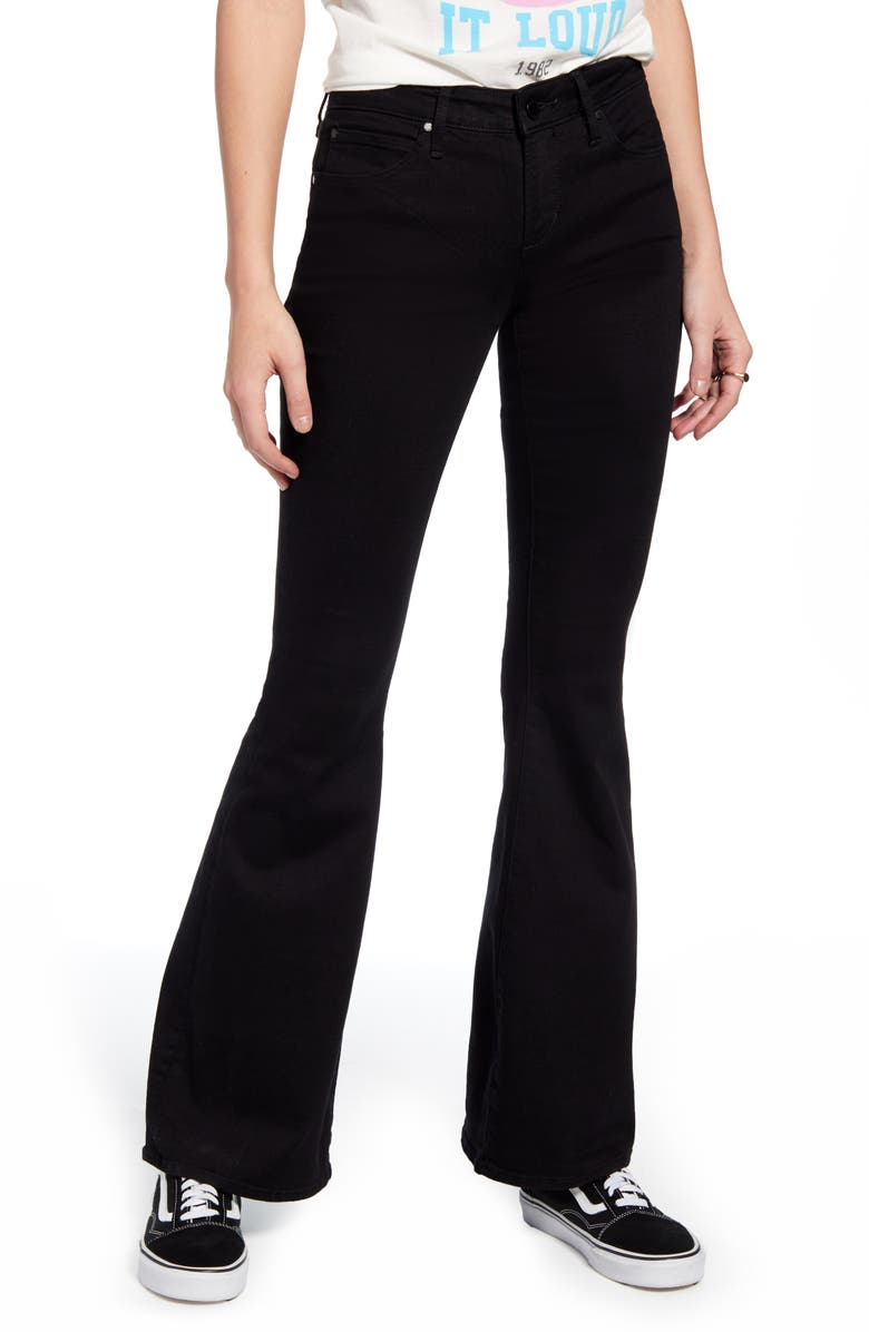 ARTICLES OF SOCIETY Faith Flare Jeans, Main, color, STAR