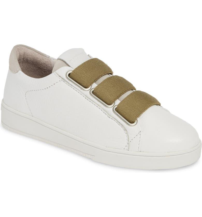 BLACKSTONE RL82 Slip-On Sneaker, Main, color, WHITE LIZARD PRINT LEATHER