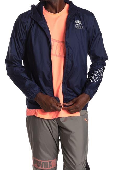 Image of PUMA Graphic Windbreaker Jacket
