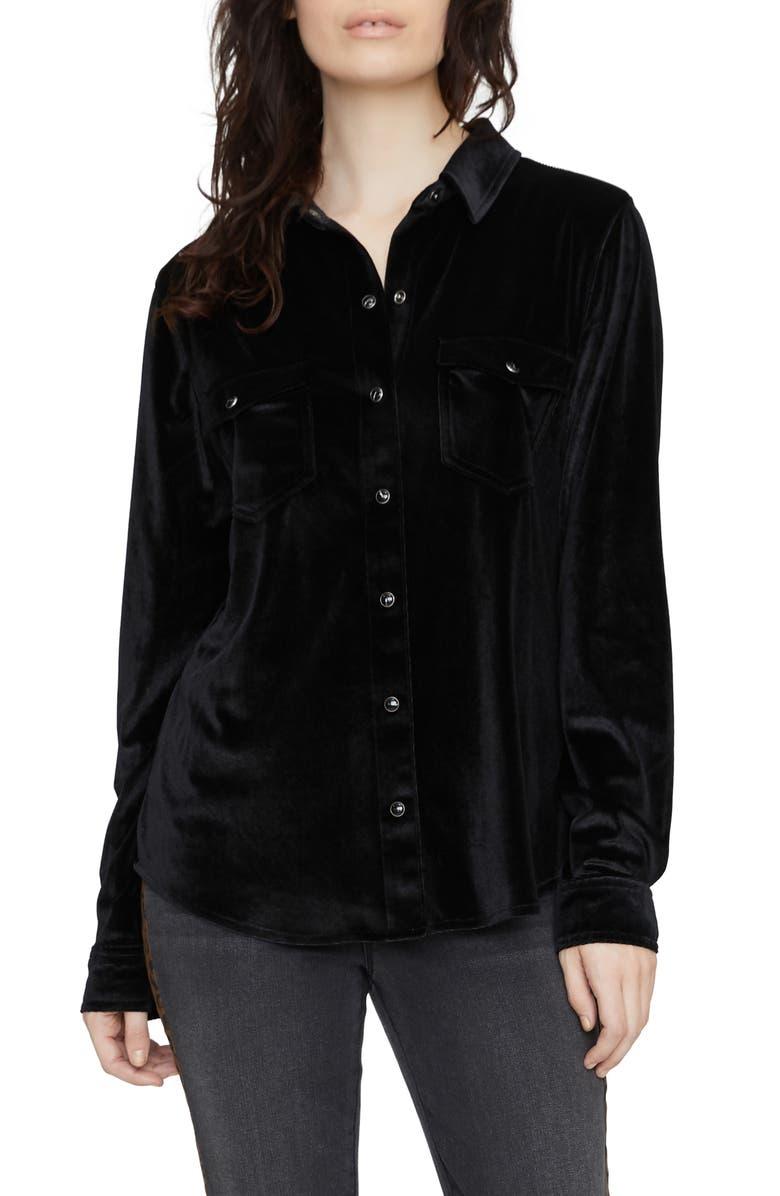 SANCTUARY Work Shirt, Main, color, 001