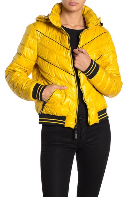 Guess Quilted Puffer Jacket Nordstrom Rack