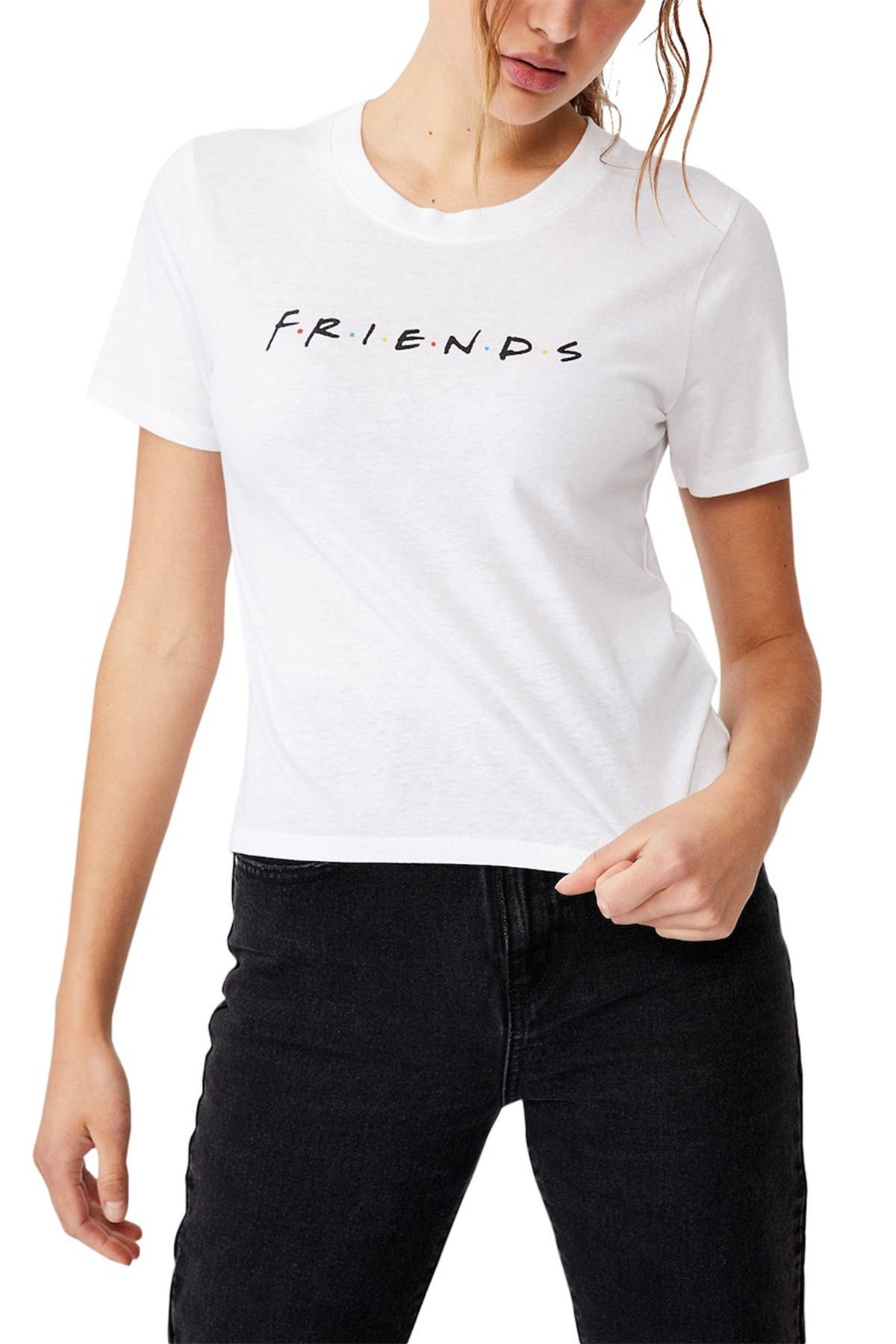Image of Cotton On Essential Friends T-Shirt
