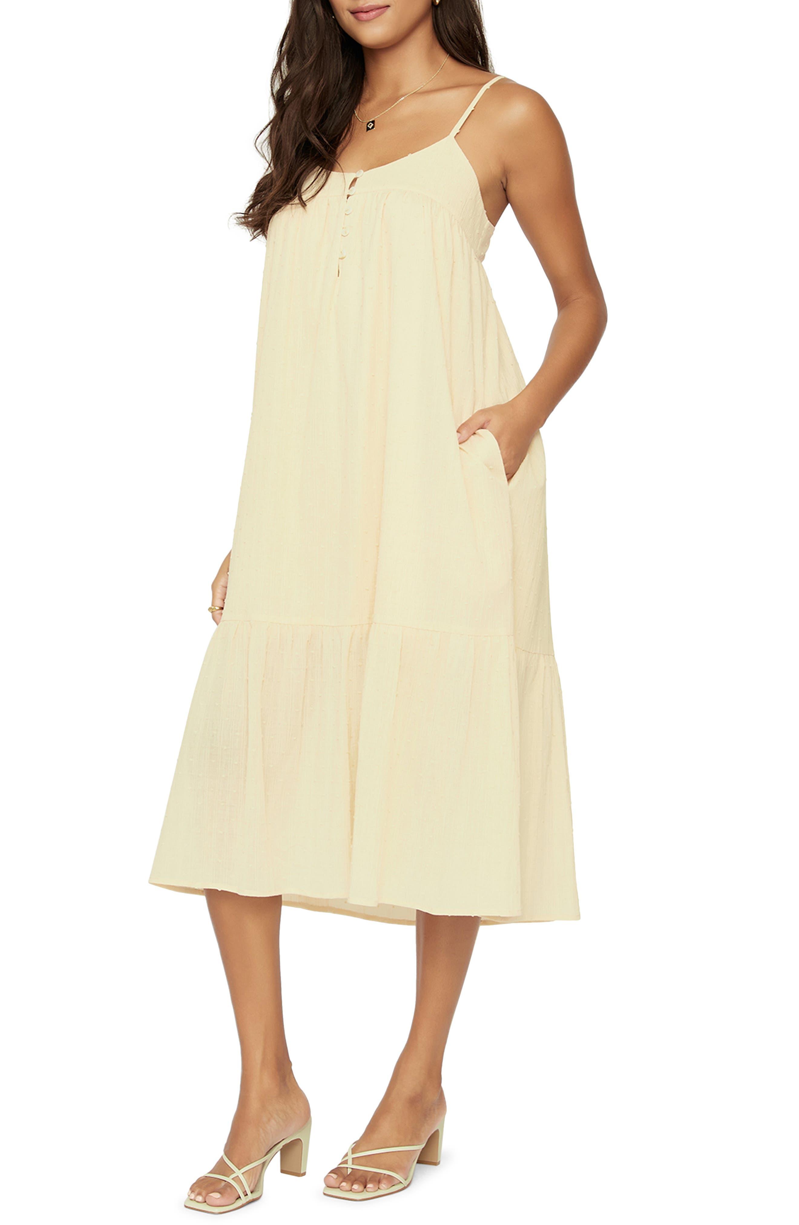 Women's Lost + Wander Sweet Lemon Pie Midi Dress