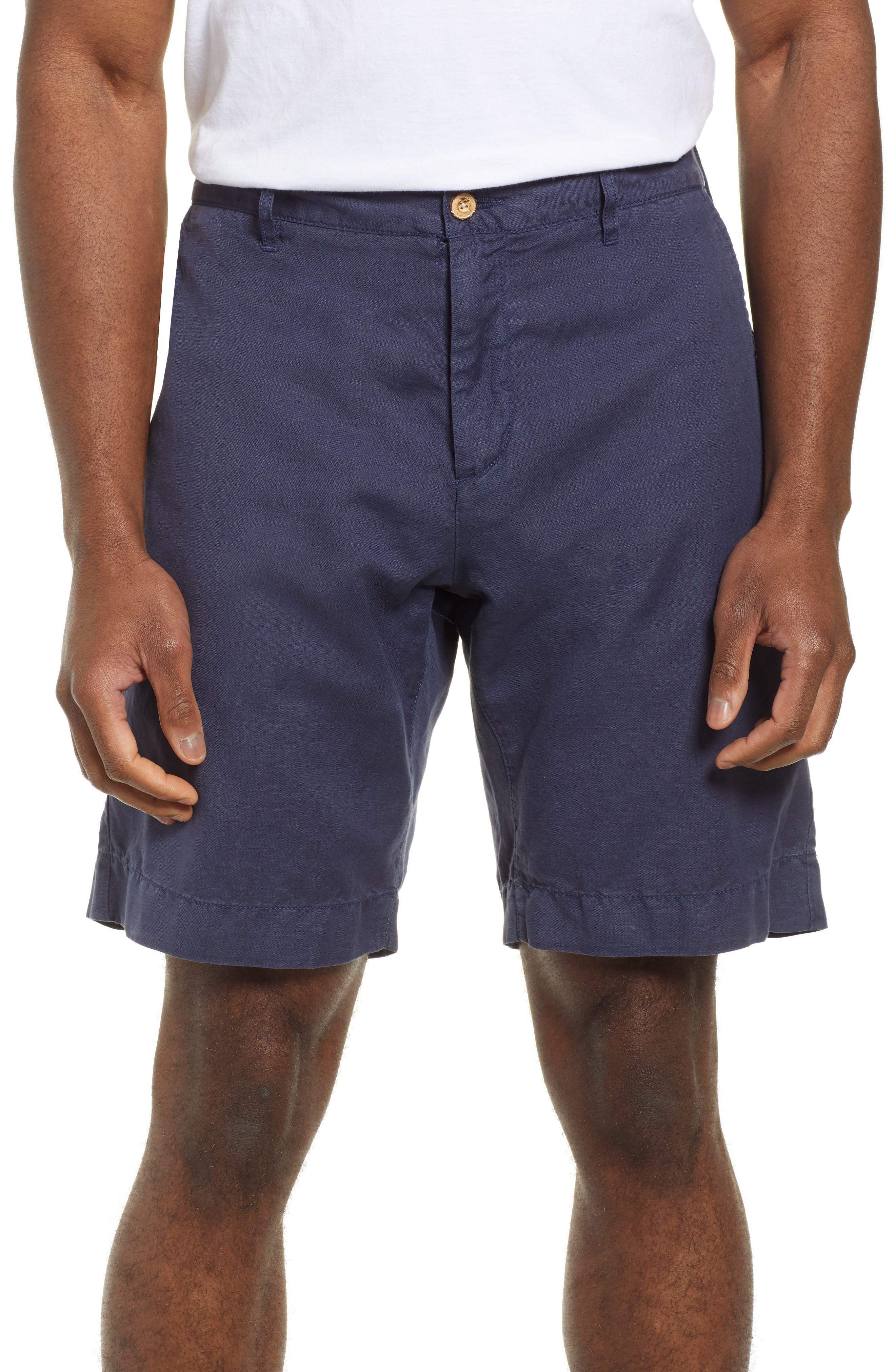 Faherty Malibu Shorts, Blue