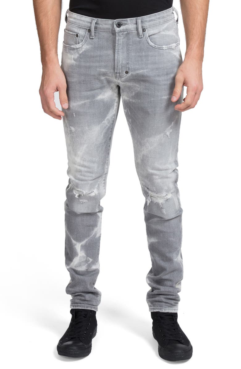PRPS Windsor Ripped Extra Slim Fit Jeans, Main, color, JOPLIN