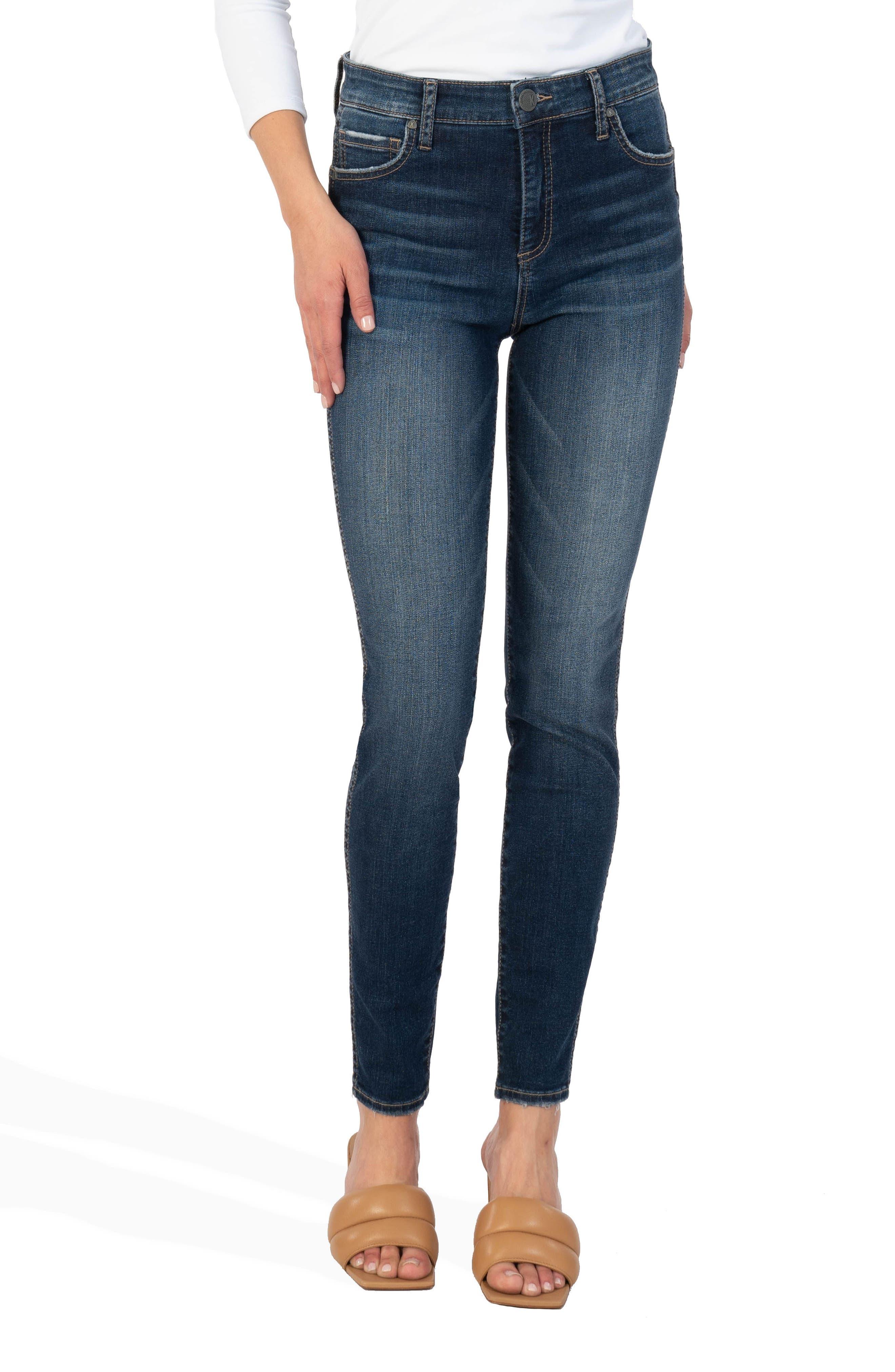 Mia Fab Ab High Waist Toothpick Skinny Jeans