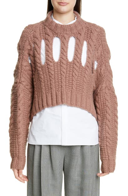 Partow Sweaters INGA CASHMERE CROP SWEATER