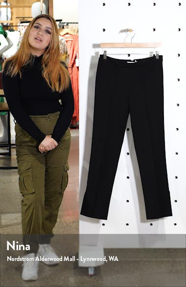 Side Slit Skinny Pants, sales video thumbnail
