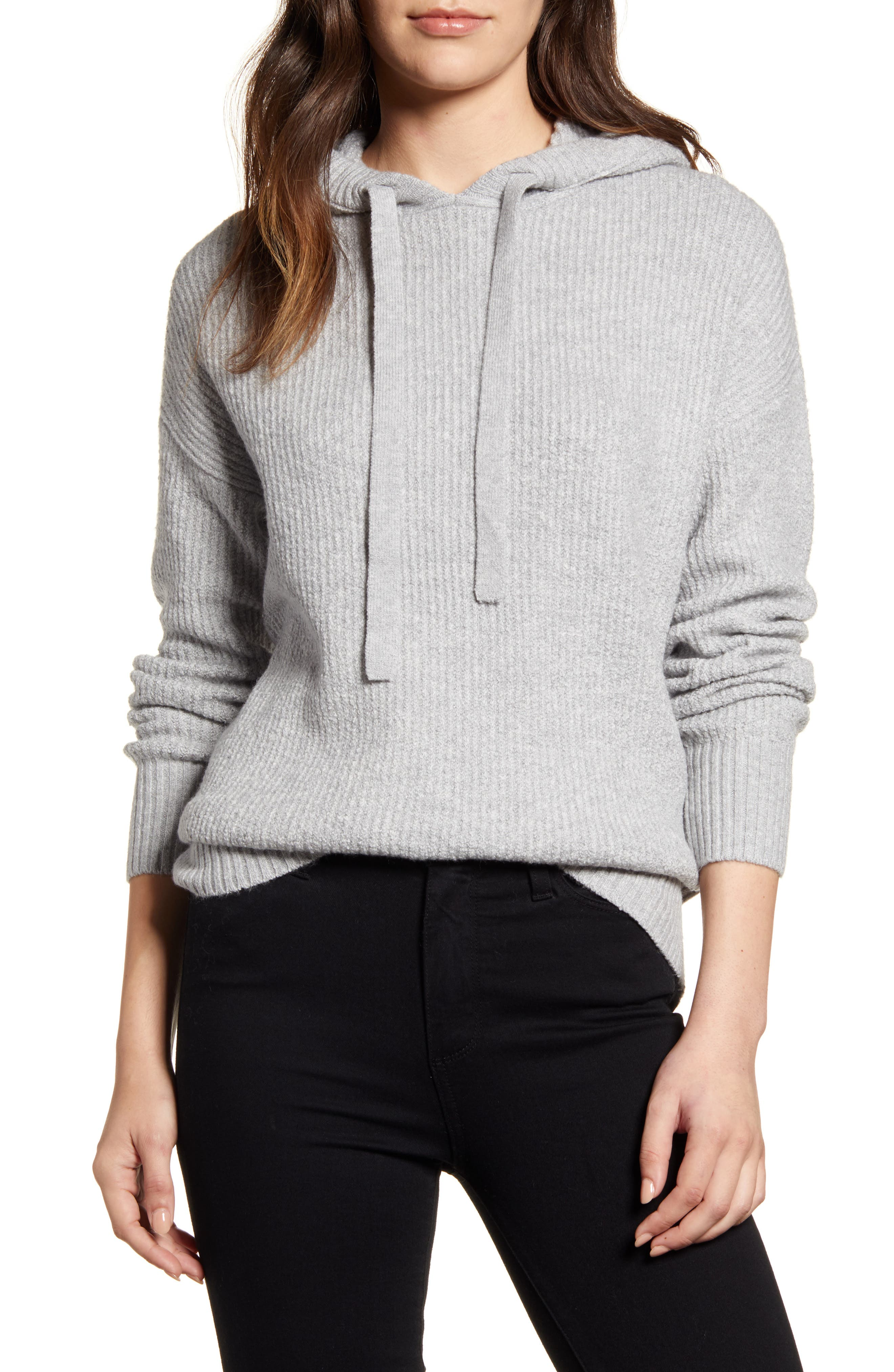 Caslon® Sweater Hoodie