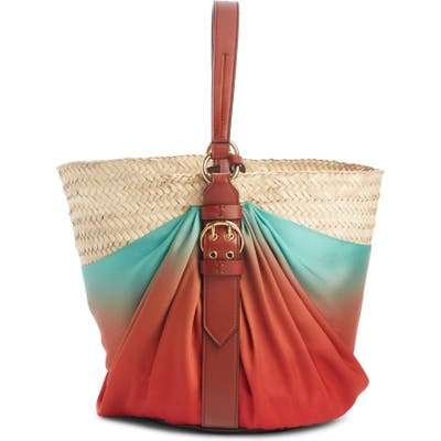 Chloe Panier Ombre Shoulder Bag - Brown