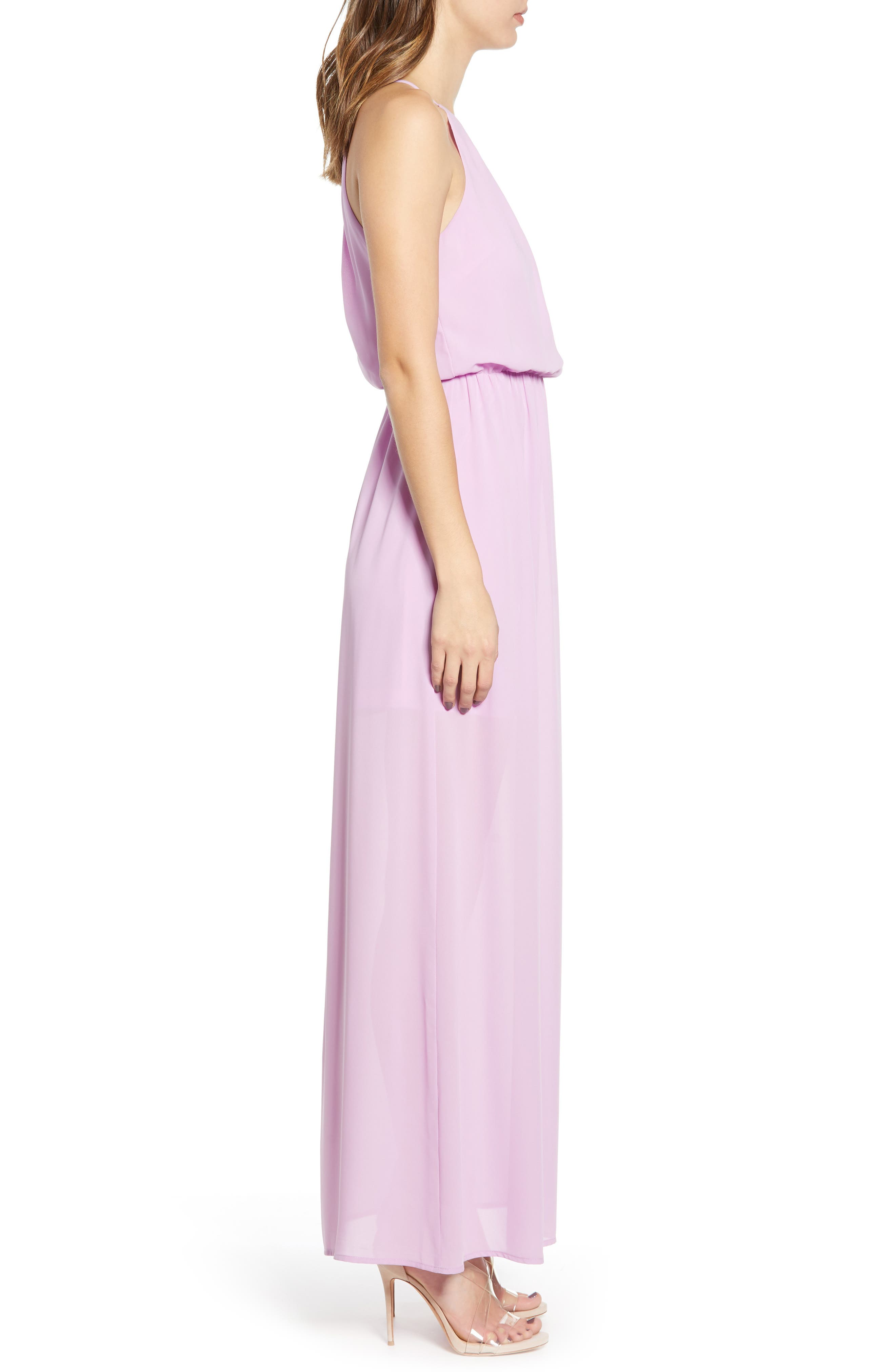 ,                             Blouson Maxi Dress,                             Alternate thumbnail 10, color,                             500