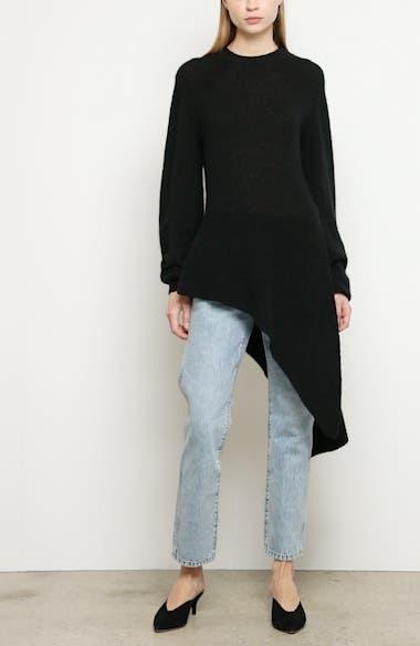 Esme Asymmetrical Stretch Cashmere Sweater, video thumbnail