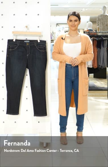 Skimmer Ab-Solution High Waist Crop Skinny Jeans, sales video thumbnail
