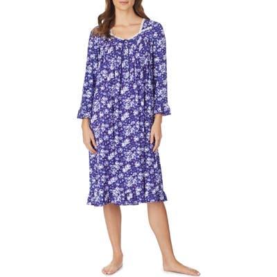 Eileen West Waltz Nightgown, Purple