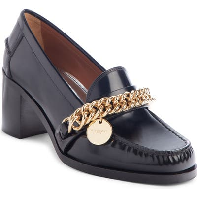 Givenchy Chain Loafer Pump - Black