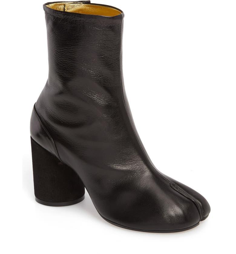 MAISON MARGIELA Tabi Boot, Main, color, BLACK/ GOLD
